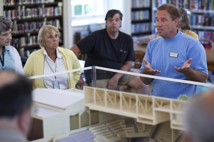 Briefings, library display keep community engaged on Amphitheater plans