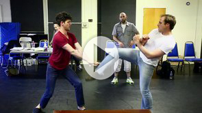 WATCH: Inside 'Romeo & Juliet' — Fight Rehearsal