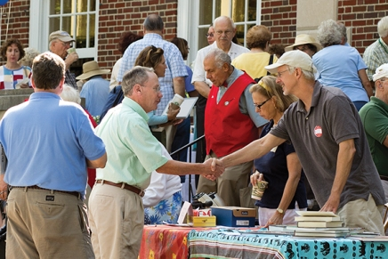 Chautauqua hits the books for popular annual Library Day event