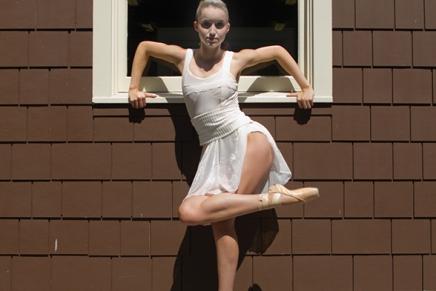 West Foot Forward: Dumas joins festival dancers on Balanchine's 'WesternSymphony'