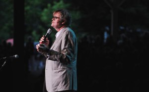 Garrison Keillor performs Aug. 2, 2013, in the Amphitheater. (Roger Coda | File Photo)