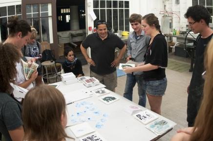 School of Art celebrates two decades ofprintmaking