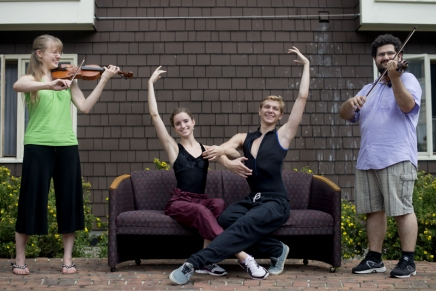 Full house: Bellinger Hall allows arts schools students to live, eat, growtogether