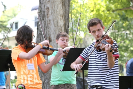 Chautauqua Music Camps give young musicians place to hone instrumentalskills