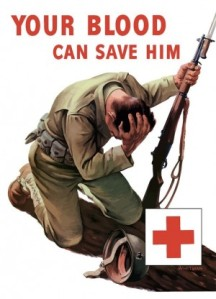 Max Rohrbaugh | provided photoPoster for the American Red Cross blood drives during World War II.