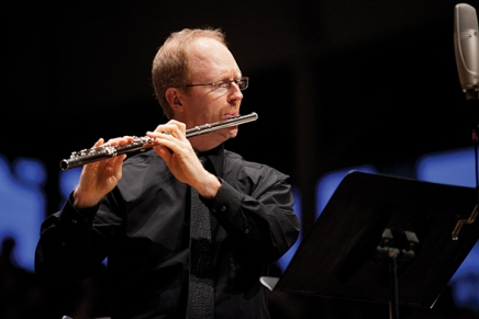 A breath of fresh sound: Roman's flute concertino makes world premiere in CSO performance featuring Valdes,Sherman