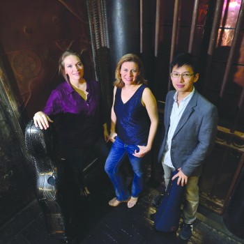 Manhattan Piano Trio brings unique sound, new cellist to Logan series