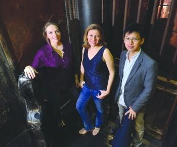 Manhattan Piano Trio brings unique sound, new cellist to Loganseries
