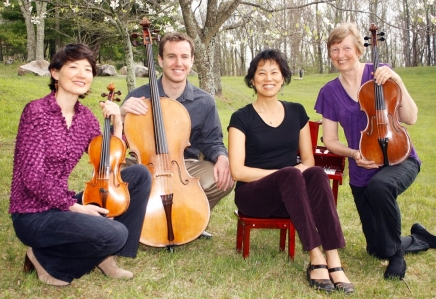 Garth Newel Piano Quartet opens Logan Chamber Music Series