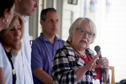 Porch discussion addresses family, youthprograms