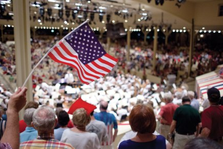 CSO celebrates America, with some help from'Africa'