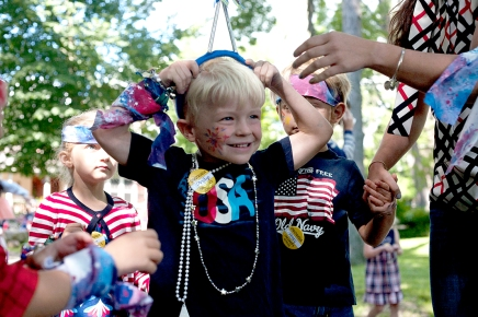SLIDESHOW: Annual march down Pratt kicks off Chautauqua's Fourth of July festivities