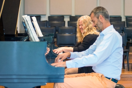 It takes two: Piano Program chairs take thestage
