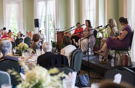 Foundation hosts 'Women on Stage' breakfast