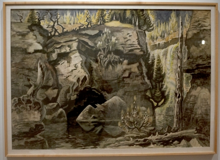 Review: Burchfield exhibition showcases  nature, both real and imagined