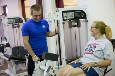 Trainer Long makes fitness personal atChautauqua