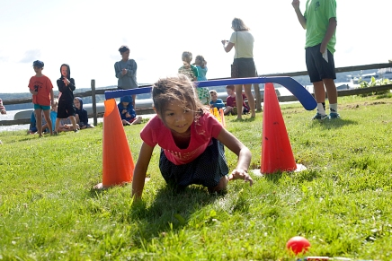 Clubbers beat best scores at annual Track and FieldDay