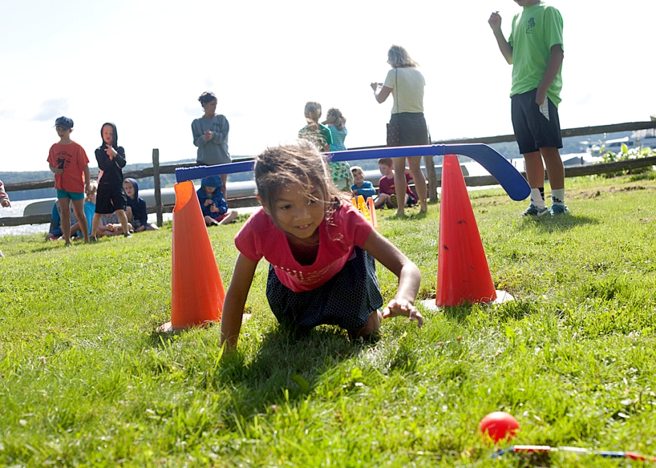 Clubbers beat best scores at annual Track and Field Day