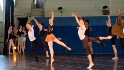WATCH: 'Go West!': Dance department