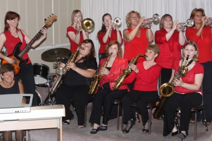 Ladies First Big Band to bring the swing to Amphitheater Ball