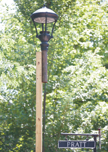 Property owners look to reform Institution street lighting