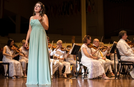 Young Artists sing bernstein, Sondheim in finale
