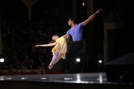 Ballet 'Power couple' to speak onpartnering