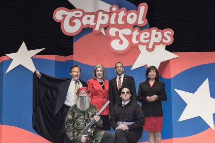 Capitol Steps bring equal-opportunity, take-no-prisoners political satire to Amp
