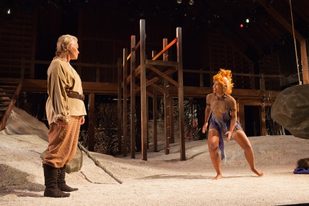 Becoming Prospero: Harrow steps into alpha male role for 'Tempest'