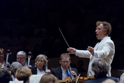 Review: Perick leads orchestra in night of 'quietdynamics'