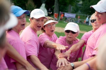 Undefeated Batgirls fall to Moms in softball championship