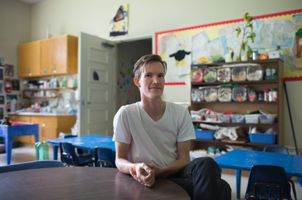 For Children's School teacher Denton, being a 'big' kid means starting small