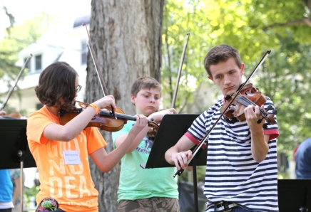 Music campers enjoy Chautauqua experience