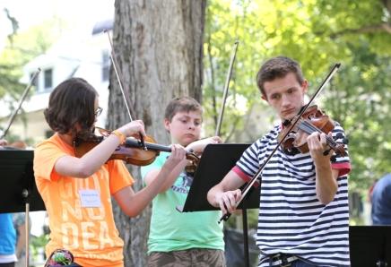 Music campers enjoy Chautauquaexperience