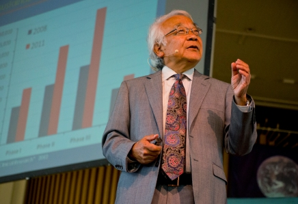 Yamamoto pushes for precision medicine revolution
