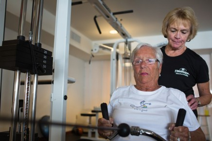Personal trainer Monaco says fitness knows noage