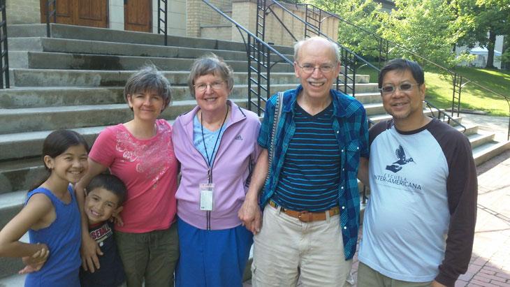 The Smithivas-Kinch family. Provided photo.