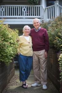Len & Judy Katz. Photo by Matt Burkhartt.