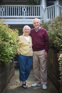 Len & Judy Katz. Photo by Matt Burkhartt.