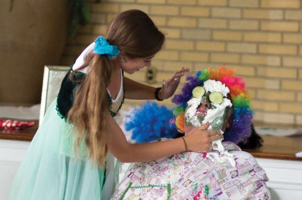 Annual 'Troll Play' puts on the silly scares for Children's School
