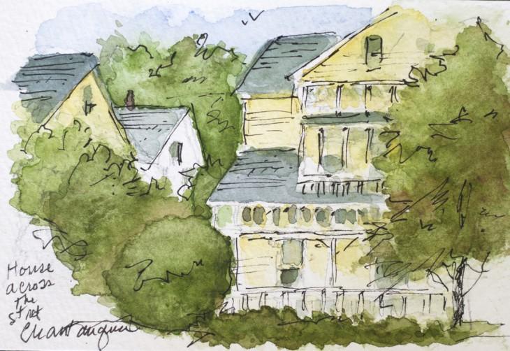 Jack Keenan draws his memories, talks watercolors andwar