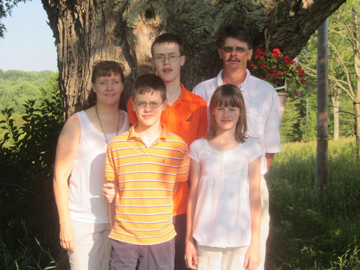 The Long family. Provided photo.