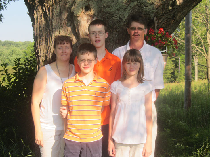 The Long family. Provided photo.