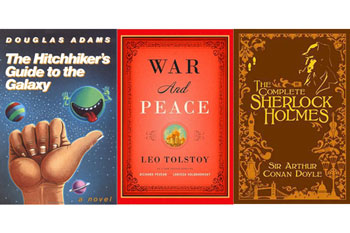 CLSC authors answer: What book would you want with you on a desertisland?