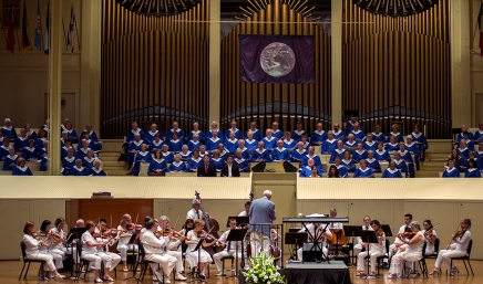 Summer's first Sacred Song Service welcomes Chautauquans toseason
