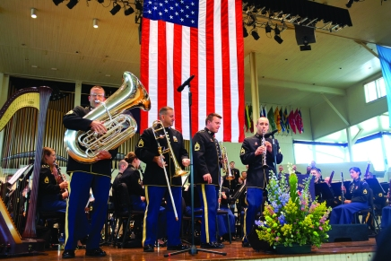 Army's 'Musical Ambassadors' bring patriotic flair to opening Sunday concert