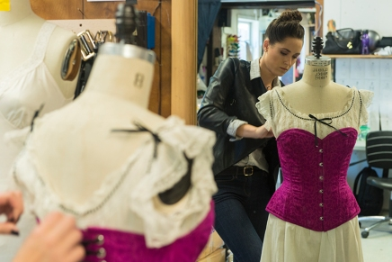 Closer than its seams: CTC preps for 'intimate apparel'