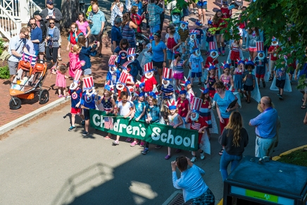 Little patriots: Children's school parade celebrates independence day
