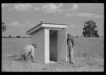 Moore to give lecture No. 2 on history of outhouses
