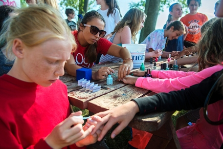 Club Carnival brings droves to the waterfront